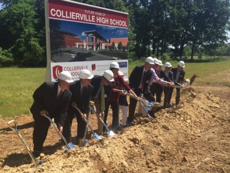 collierville groundbreaking